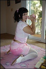 Allycakes in Pink Diapers